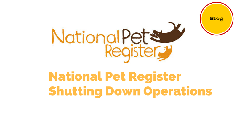 National Pet Register Shutting Down Operations