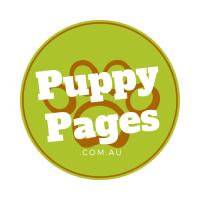 puppypages logo circle paw print